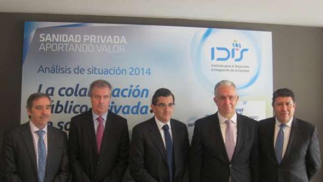Presentación Informe sobre la sanidad privada del IDIS