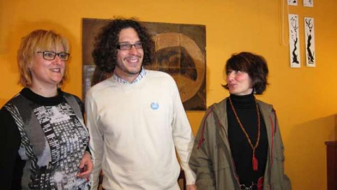 Los tres portavoces de 'Podemos Murcia'