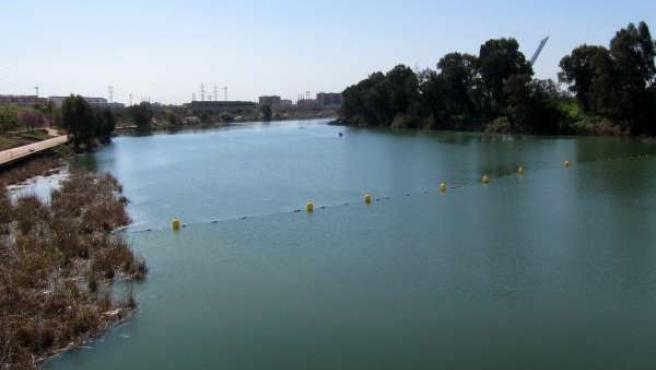 Río Guadalquivir a su paso por Sevilla