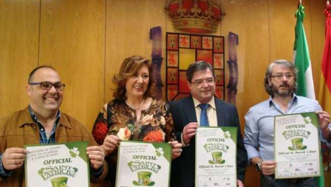Presentación de la fiesta del Día de San Patricio en Jaén