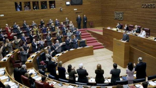 Imagen de arhivo del parlamento valenciano.