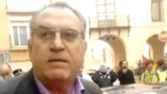 El alcalde de Caudete, José Miguel Mollá, del Partido Popular.