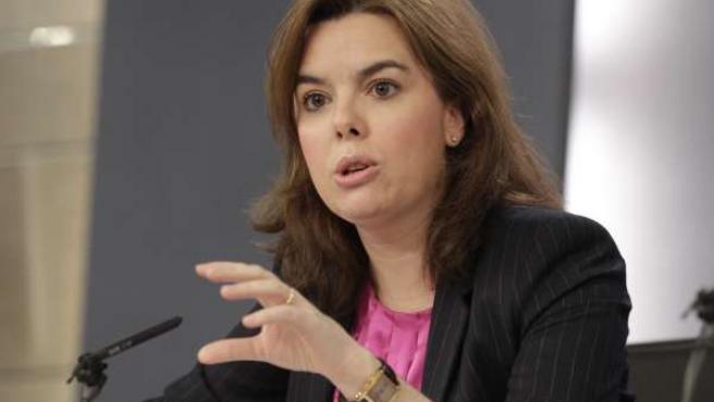 Soraya Santamaría, Consejo de Ministros