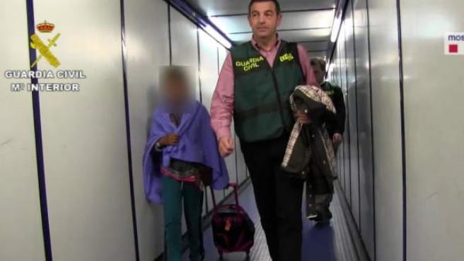 Niña secuestra en Bolivia
