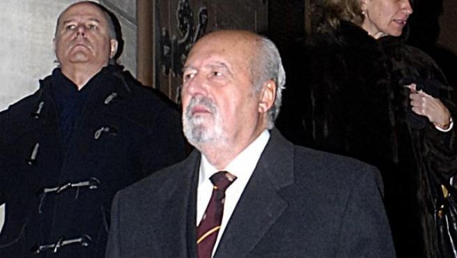 El ex teniente coronel de la Guardia Civil Antonio Tejero.