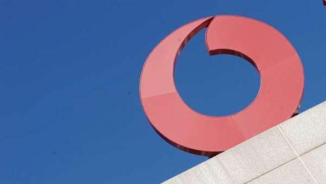 Logotipo de Vodafone.