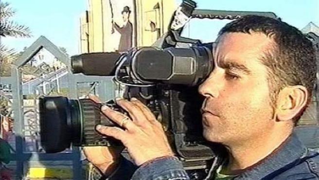 El periodista audiovisual de Telecinco, José Couso, fue asesinado durante la guerra de Irak por el ejército de EE UU en el hotel Palestina.