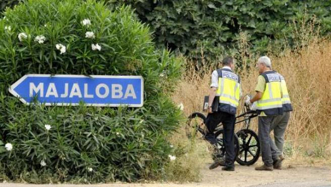 La Policía Nacional ha iniciado hoy la búsqueda con georradar del cuerpo de Marta del Castillo en la finca Majaloba, en La Rinconada (Sevilla).