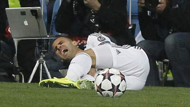 Apenas ha dispuesto de minutos en Champions. Explotó en la Liga, pero su grave lesión le vino cuando llegó la fase decisiva de la competición europea, se lesionó precisamente en el intrascendente partido de vuelta de octavos ante el Schalke.
