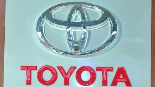 Logotipo de la marca Toyota.