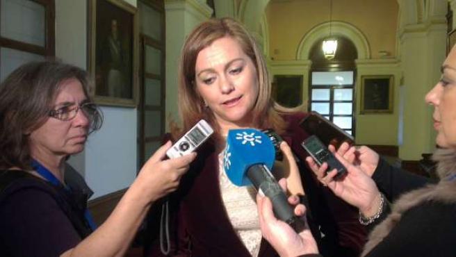 La consejera de Medio Ambiente en Andalucía, María Jesús Serrano