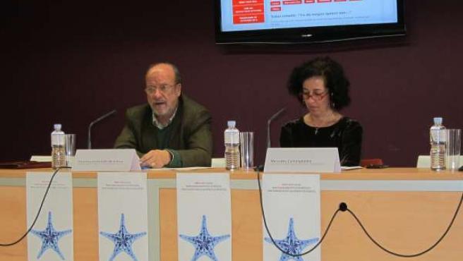 Javier León de la Riva presenta la programación junto a Mercedes Cantalapiedra