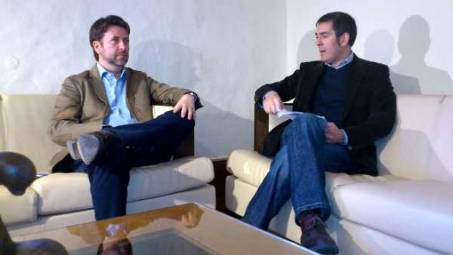 Carlos Alonso y Fernando Clavijo