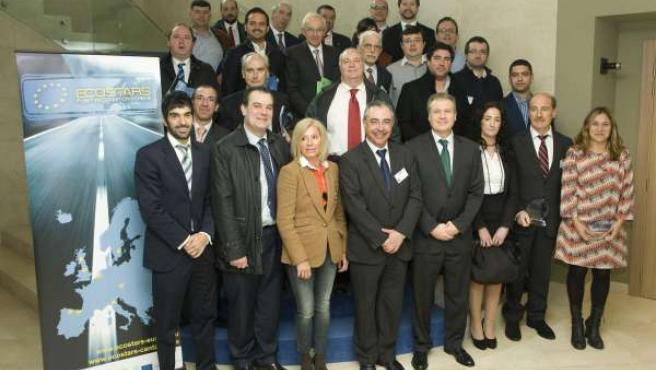 El consejero de Industria entrega las distinciones del proyecto europeo Ecostars