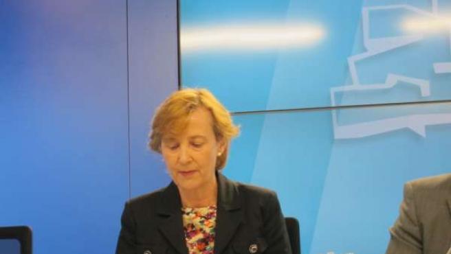 La parlamentaria del PSE, Blanca Roncal