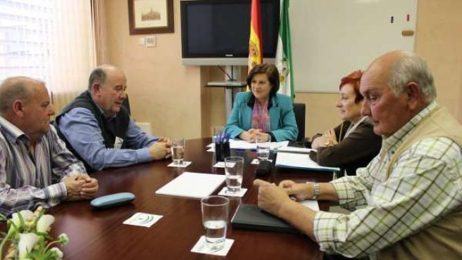 Sánchez Rubio se reúne con Fajer