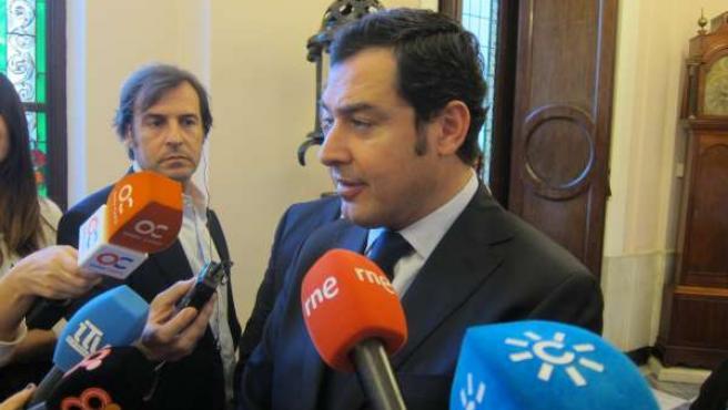 Juan Manuel Moreno, presidente del PP-A