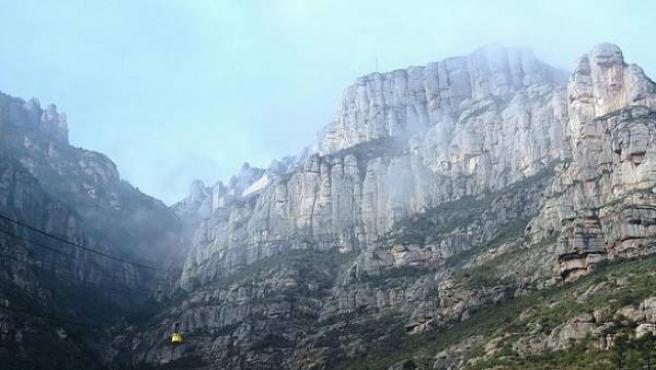 Montaña de Montserrat, en Barcelona.