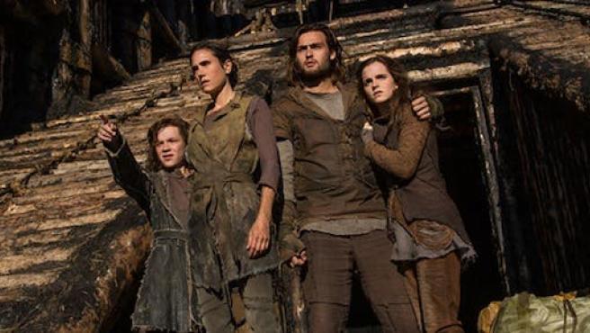 'Noé': Emma Watson, Jennifer Connelly y Darren Aronofsky en Madrid más aguacero de imágenes