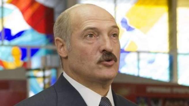 Una imagen de archivo del presidente de Bielorrusia, Aleksandr Lukashenko.