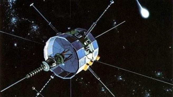 Una imagen de la NASA de una sonda.