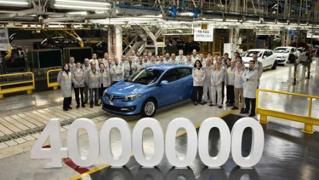 Renault Mégane 4 millones en Palencia