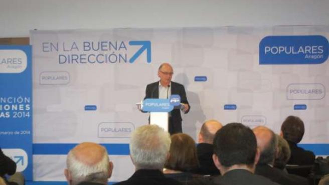 Cristóbal Montoro, en la clausura de la Convención