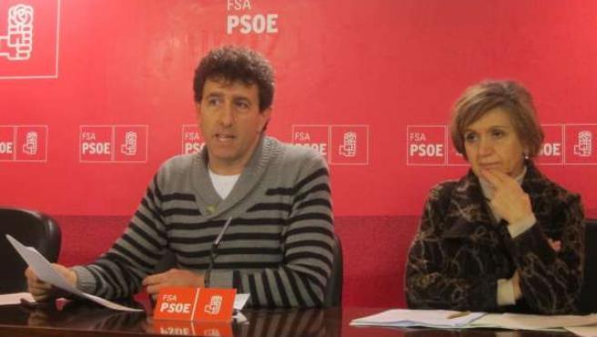 Jesús Gutiérrez y María Luisa Carcedo.