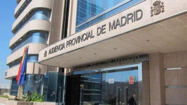 Imagen de archivo de la Audiencia Provincial de Madrid.