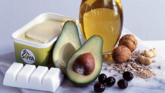 Alimentos que ayudan a controlar el colesterol.