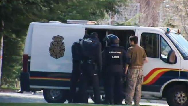 La Policía Nacional ha desalojado este miércoles el Vicerrectorado de la Universidad Complutense de Madrid.