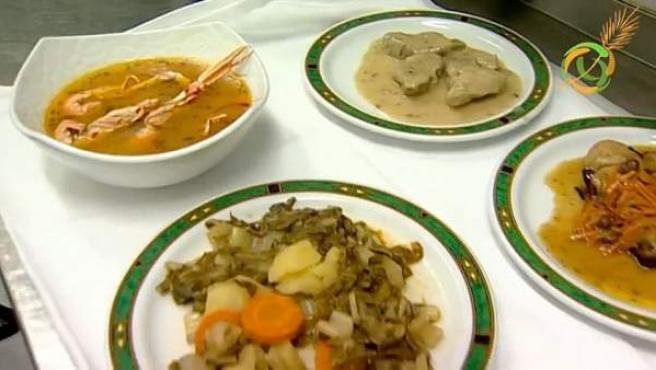 Recetas que el restaurante As de bastos (Majadahoda) elabora sin gluten.