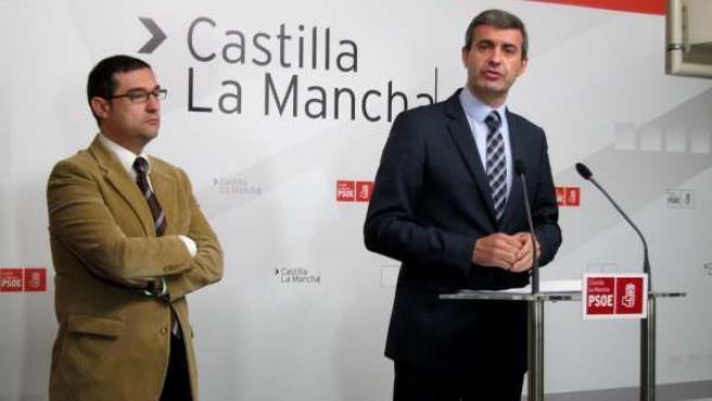 Fernando Muñoz y Álvaro Gutiérrez PSOE