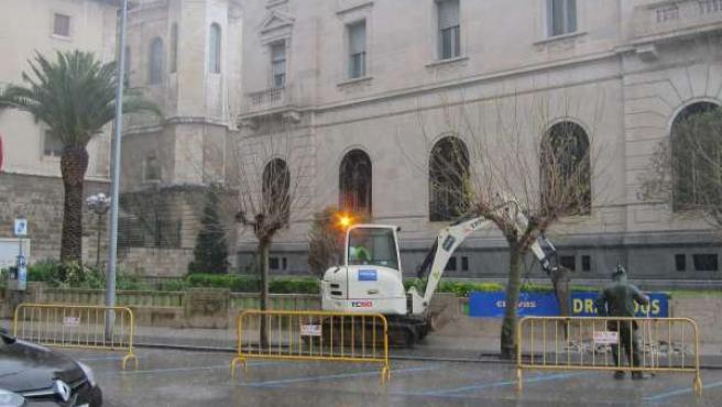 Comienzan las obras de la calle Cádiz