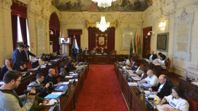 Pleno de febrero en el Ayuntamiento de Málaga