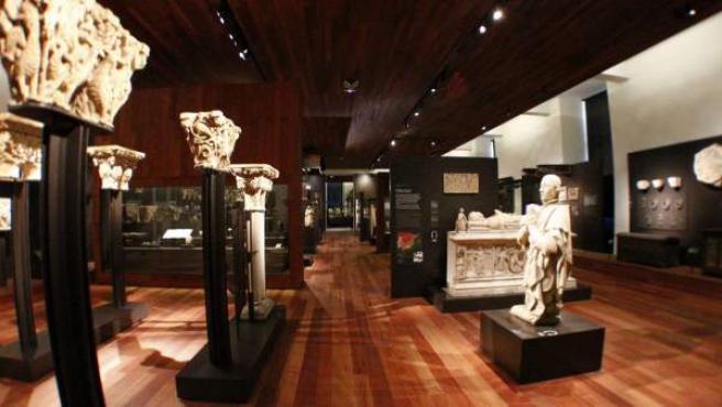 Vista general de una de las salas del nuevo Museo Arqueológico Nacional.