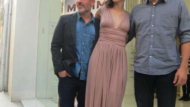 Presentación de la película 'La isla mínima' en el Festival de Málaga