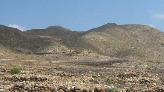 Imagen de la Montaña de Guaza (Tenerife)