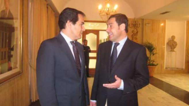 José Antonio Nieto y Juan Manuel Moreno Bonilla