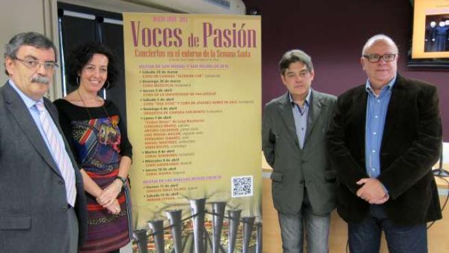 Presentación del ciclo 'Voces de Pasión'