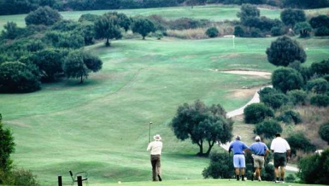 Golf turismo jugadores deporte turistas Costa del Sol birdies
