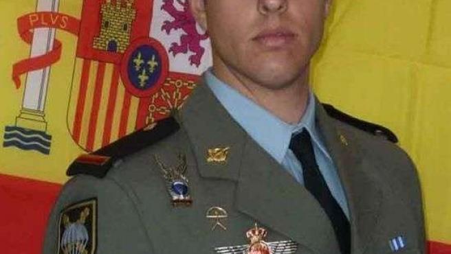 El soldado Antonio García Sierra, fallecido en un ejercicio paracaidista
