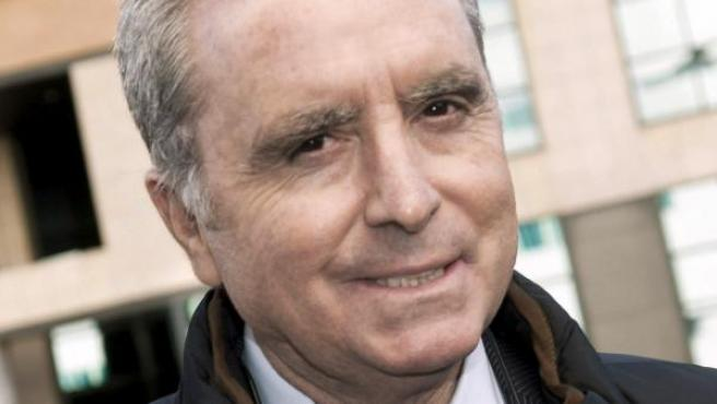 Imagen de archivo de José Ortega Cano a su llegada a los juzgados, en marzo de 2013.