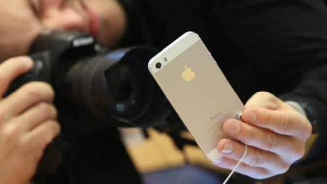 Imagen de un iPhone de Apple.