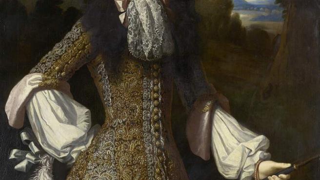 Retrato de María de Módena (1658-1718), mujer de Jacobo II de Inglaterra