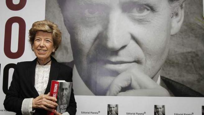 """La periodista Pilar Urbano posa durante la presentación de su último libro, """"El precio del trono"""", sobre la figura del Rey Juan Carlos ICC"""