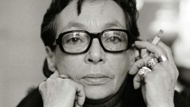 Marguerite Duras en 1974.