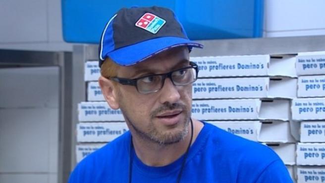 Jesús Navarro, director de Operaciones de Domino's Pizza, infiltrado como un trabajador más.