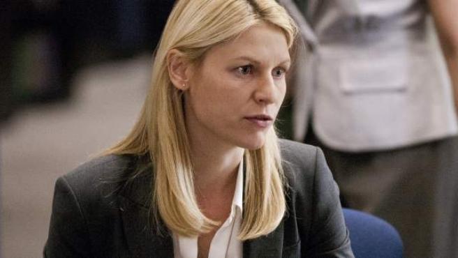 La agente Carrie Mathison (Claire Danes) en 'Homeland'.