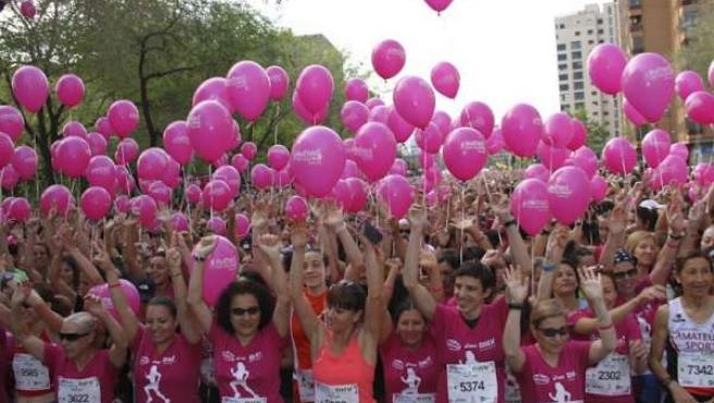 11.000 Inscritas En La Carrera De La Mujer